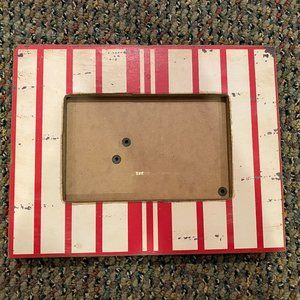 Distressed Wood Painted 4x6 Picture Frame